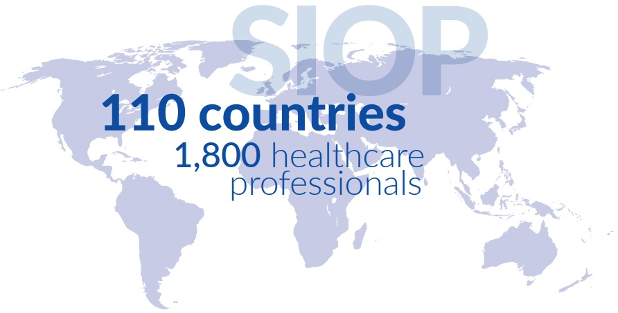 SIOP Membership World Map