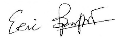 Eric Bouffet Signature