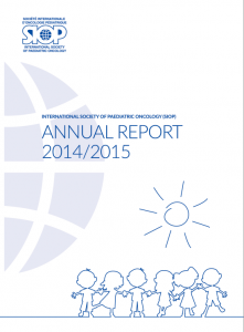 SIOP Annual Report 2014/2015 Cover page