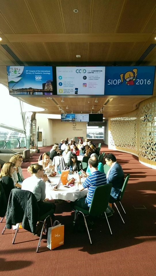 The Expert Lunch at the  48th SIOP Congress, Dublin 2016