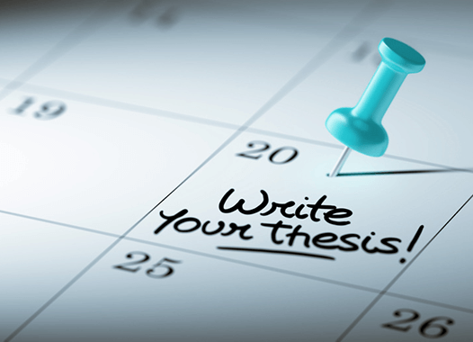 Top Tips on writing your thesis