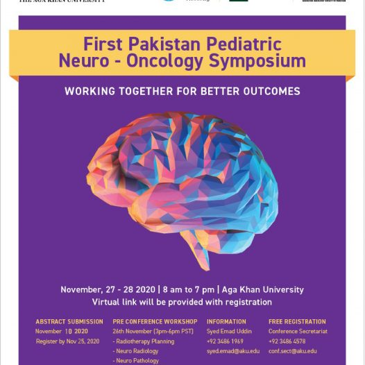 First Pakistan Pediatric Neuro – Oncology Symposium (PNOS)