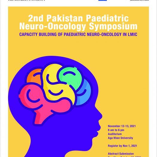 2nd Pakistan Paediatric Neuro-Oncology Symposium (2PNOS) November 12-13, 2021