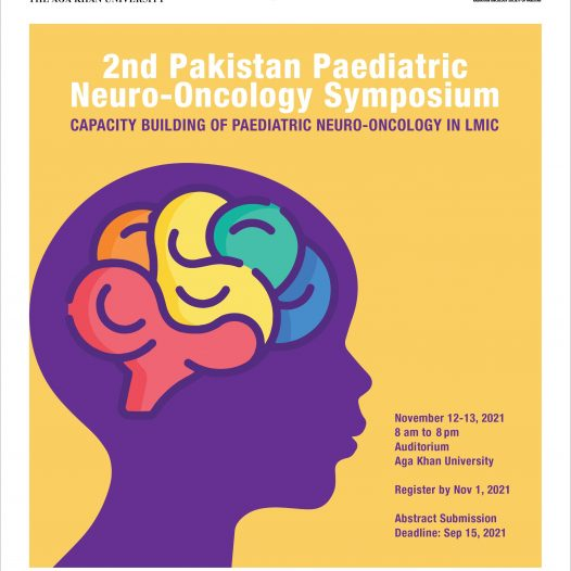 2nd Pakistan Paediatric Neuro – Oncology Symposium(PNOS2) November 12 – 13, 2021, 8 am to 8pm (Pakistan Time; GMT +5)